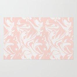 Pink marble Rug