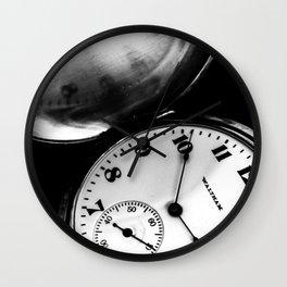 Keeps On Ticking Wall Clock
