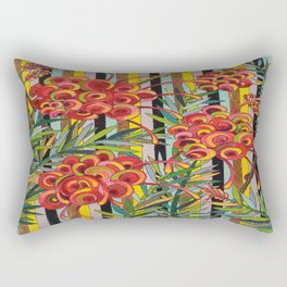 Grevillea Fireworks Rectangular Pillow