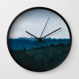 Into the Woods We Go Wall Clock