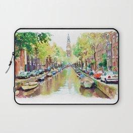 Amsterdam Canal 2 Laptop Sleeve