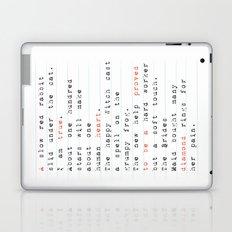 a true heart Laptop & iPad Skin