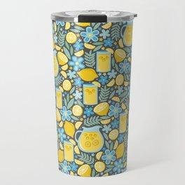 Evening Glass of Lemonade Travel Mug