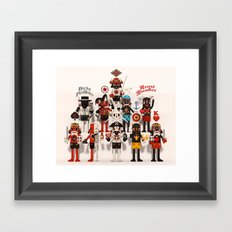 Pretender Collective Framed Art Print