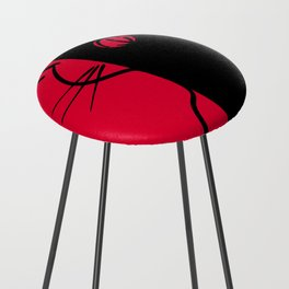 The Black Cat ~ From Sinners And Saints ~ Bohème Counter Stool