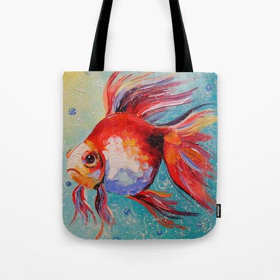 Gold fish Tote Bag