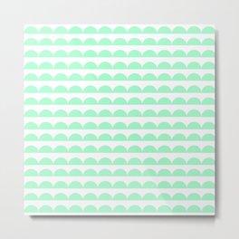 BREE ((seafoam green)) Metal Print