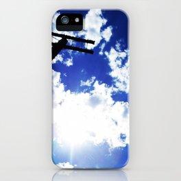Blue Blue Sky Skies iPhone Case