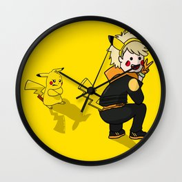 Team Instinct Spark Wall Clock