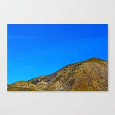 Industrialized Nature Canvas Print
