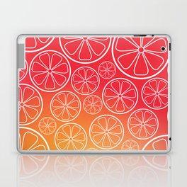 Citrus slices (red/orange) Laptop & iPad Skin