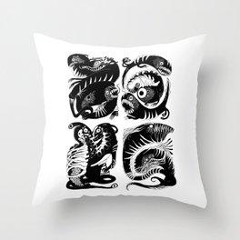 elctr eel Throw Pillow