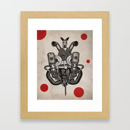Anthropomorphic N°19 Framed Art Print