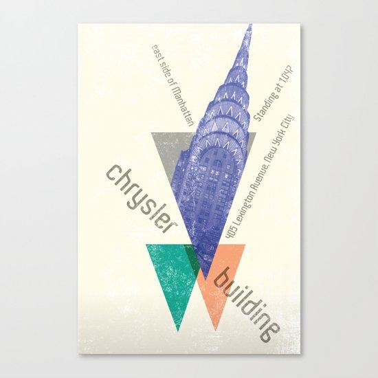chysler building Canvas Print