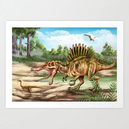 Dinosaur Species Art Print