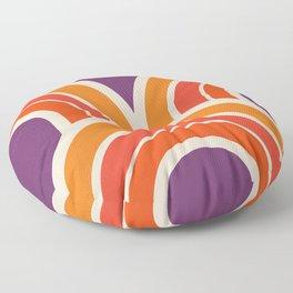 Groovy Curves Floor Pillow