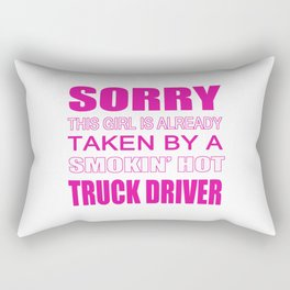 Taken By A Truck Driver Rectangular Pillow