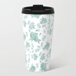 green roses Travel Mug