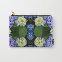 Hydrangea Kaleidoscope Carry-All Pouch