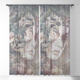 Light in the dark Sheer Curtain