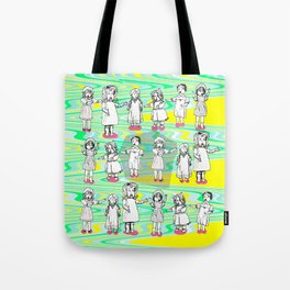 Puppets Invasion Tote Bag