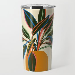 PLANT WITH COLOURFUL LEAVES  Travel Mug