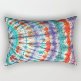 Tie Dye Vibe Rectangular Pillow