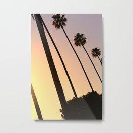 Beverly Hills Sunset Metal Print