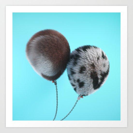 Pets Art Print