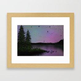 Snowbirds Framed Art Print