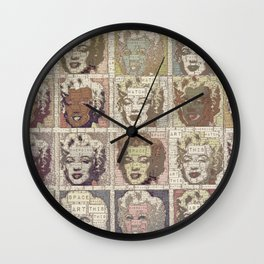 Watch This Space gallery - Signature Beige Fame Marilyn Wall Clock