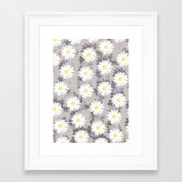 daisies Framed Art Prints featuring Daisies by Georgiana Paraschiv