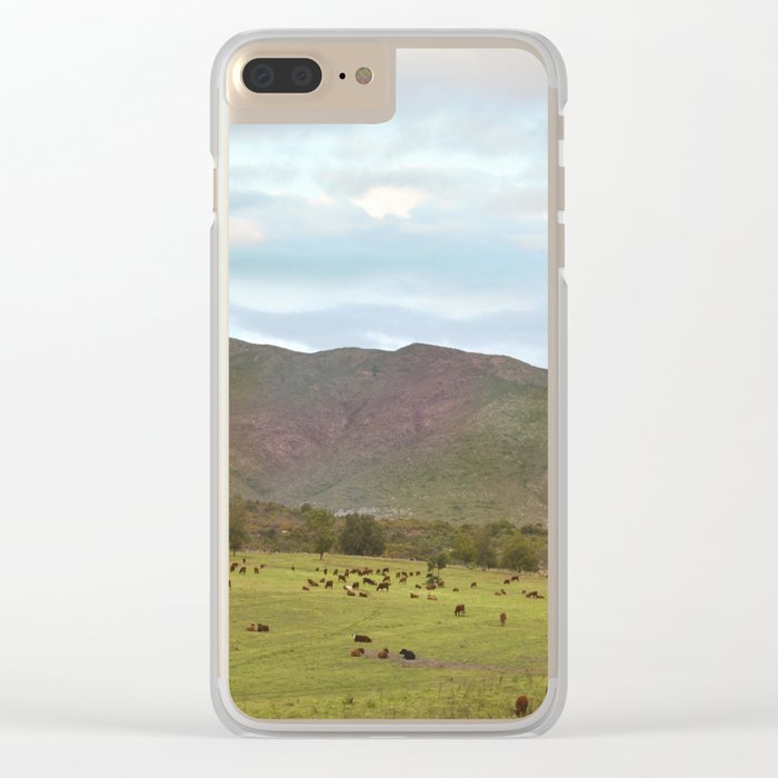 Spring Mood III Clear iPhone Case