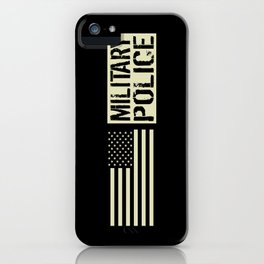 U.S. Military: Military Police iPhone Case