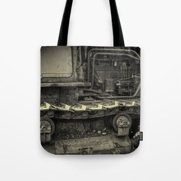 Tracks of the Warped Earth Mover Tote Bag