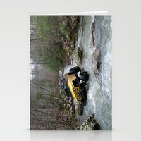 jeep Stationery Cards featuring JEEP Creek by DApple