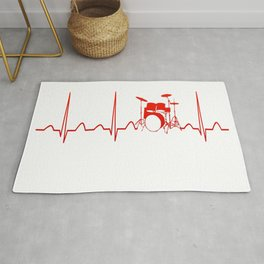 DRUMS HEARTBEAT Rug