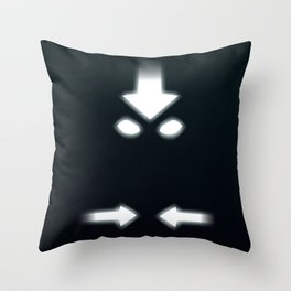 The Avatar State - Avatar: The Last Airbender Throw Pillow