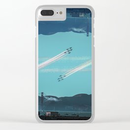 Landing/Take Off Clear iPhone Case