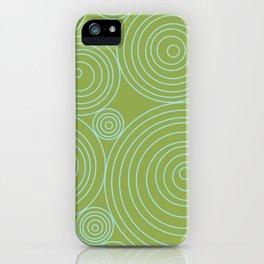 Circles & Circles iPhone Case