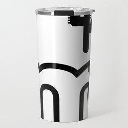 ABC: M Travel Mug