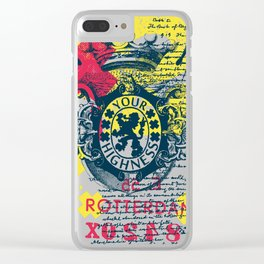 Rotterdam Style Clear iPhone Case