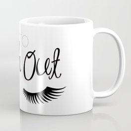 I Tend To Lash Out Coffee Mug