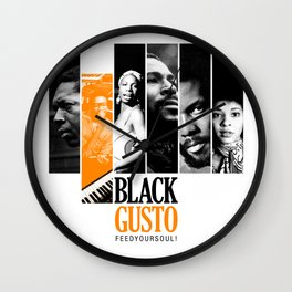 BLACK GUSTO Originale Wall Clock