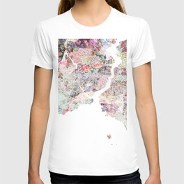 Istanbul map T-shirt