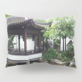 Chinese Architecture Pillow Sham