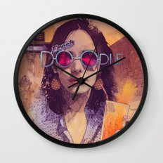 Welcome to the Fresh Doodle Wall Clock