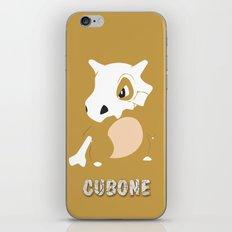 Cubone iPhone & iPod Skin