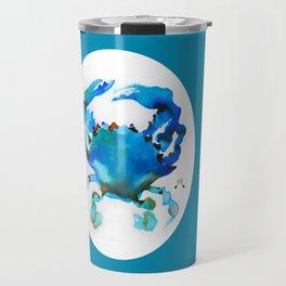 Watercolor 8 Travel Mug