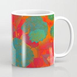 """Intense Pastel Hydrangeas-Passion"" Coffee Mug"